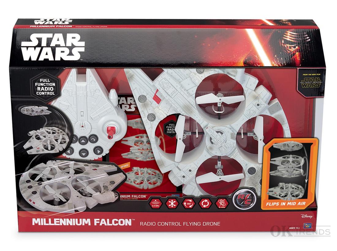 star wars ferngesteuerter millennium falcon falke. Black Bedroom Furniture Sets. Home Design Ideas